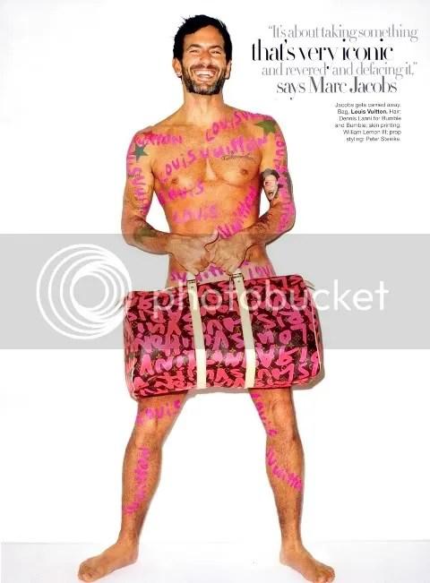 Harper's Bazaar January 2009: Marc Jacobs