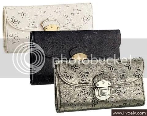 Louis Vuitton Mahina Amélia Wallet