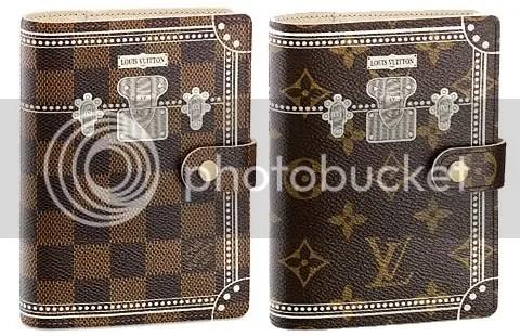 Louis Vuitton PM Malle Blanche Agenda Cover