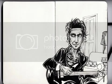 Keith Richard for Louis Vuitton Cartoon