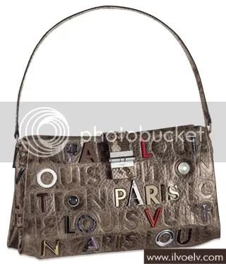 Louis Vuitton Monogram Collage Lutèce