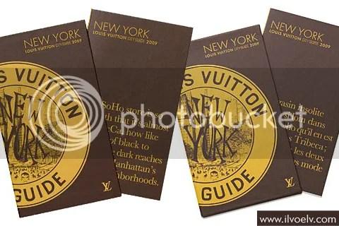 Louis Vuitton City Guide 2009: New York