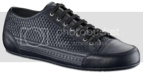 Louis Vuitton Prelude Sneaker in Braided Calf Leather
