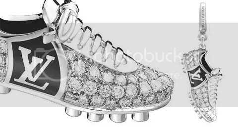 Louis Vuitton Football Boot Charm