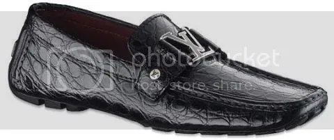 Louis Vuitton Monte Carlo Loafer in Crocodile Leather