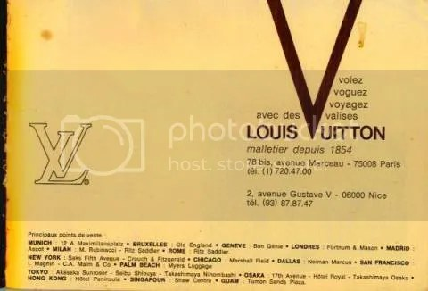 Vintage Louis Vuitton Catalog