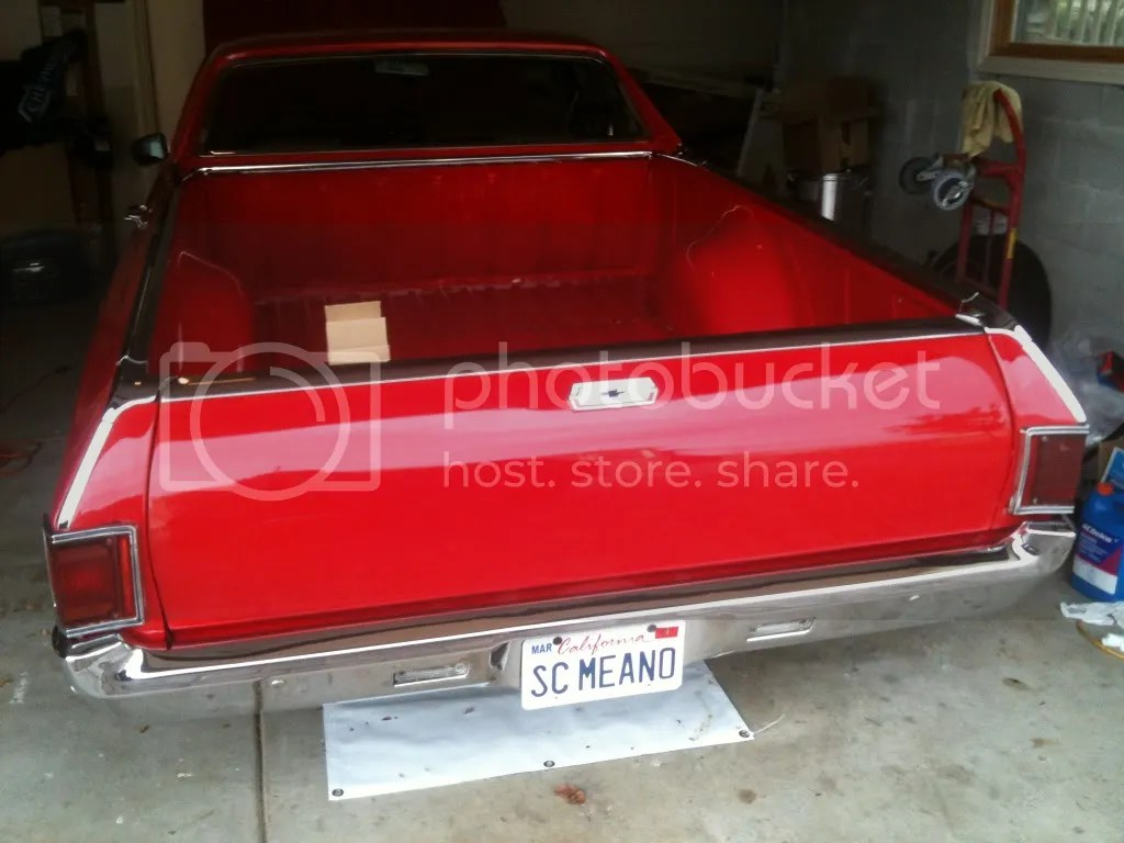 1970 El Camino Led Tail Lights Converting To Led Tail Lights But Have A Question El Camino