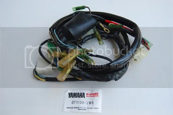 Genuine Wire Wiring Harness Yamaha DT100X 2W8 on PopScreen