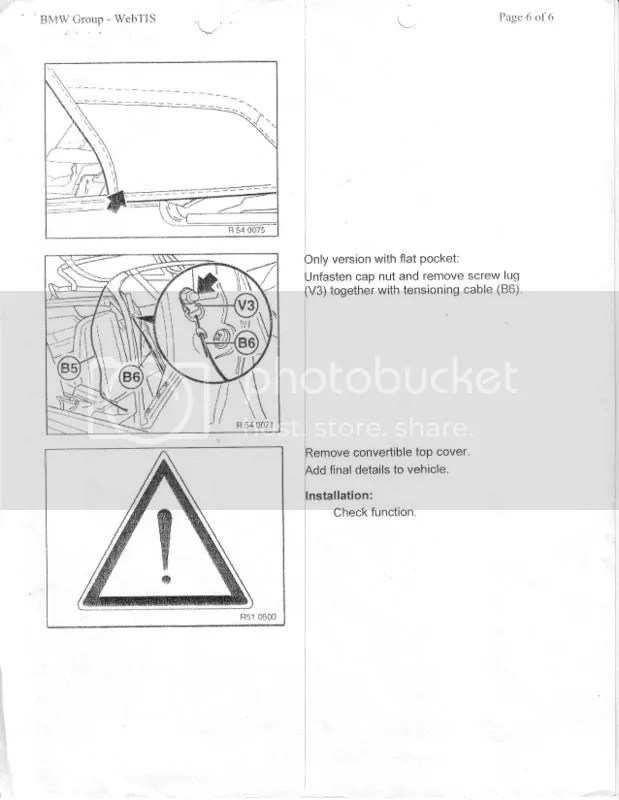 Convertible Top Manual 94-99 BMW 3 Series - Page 2
