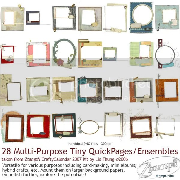 Ztampf! Tiny QuickPages Set 07