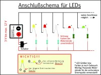 Widerstandsrechner led  Automobil, Bau, Auto-Systeme