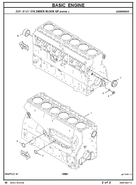 caterpillar c7 marine engine parts manual