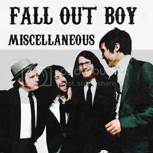 Wallpaper Fall Out Boy Icons Banners And A Suprise Burn Burn For Us For