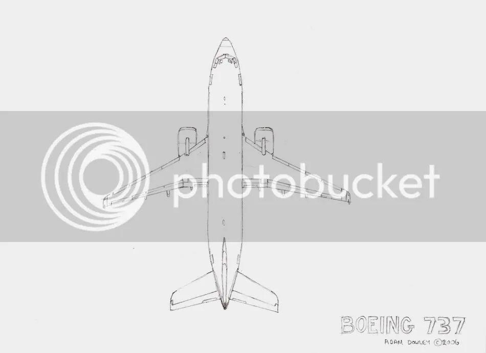 diagram of airplane