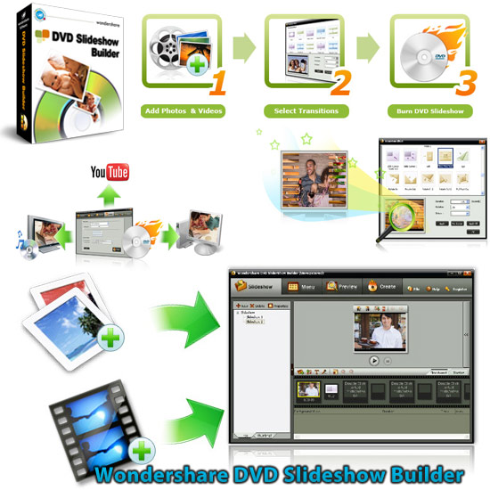 Wondershare DVD Slideshow Builder Deluxe v60022 Portable crack