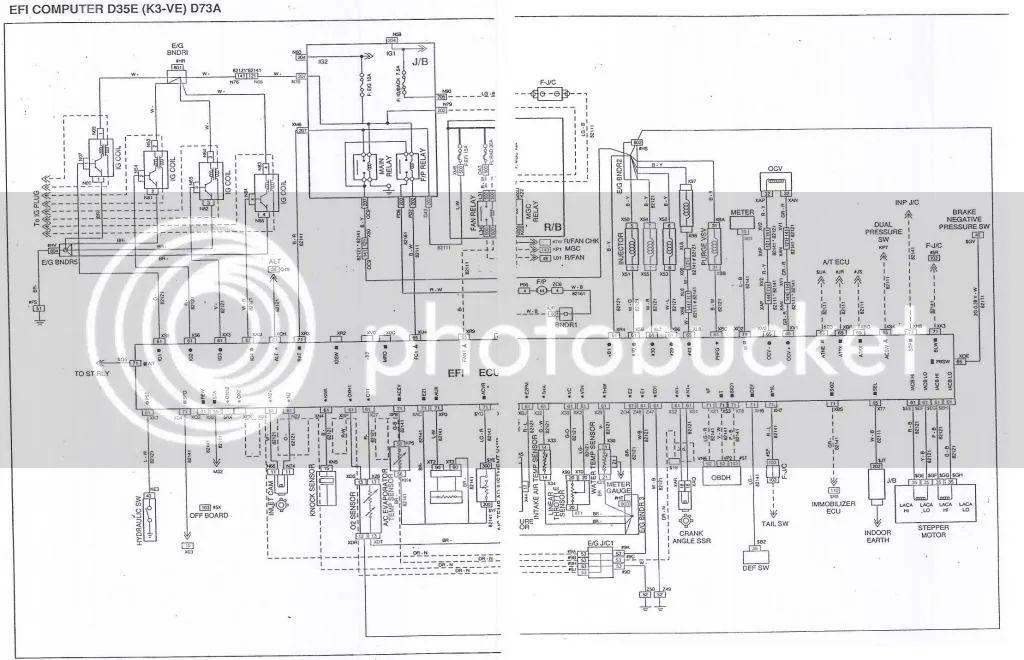 k3ve ecu wiring diagram