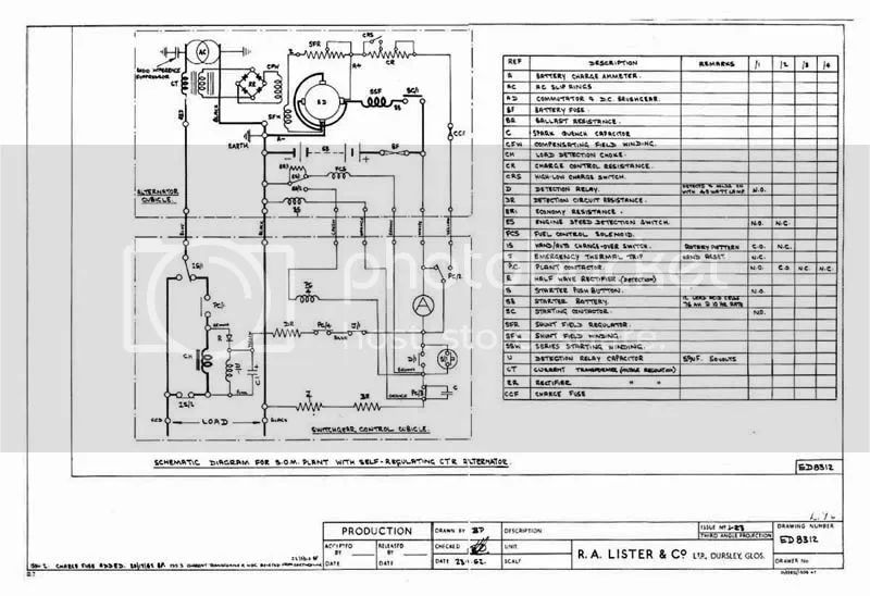 lister engine wiring diagram