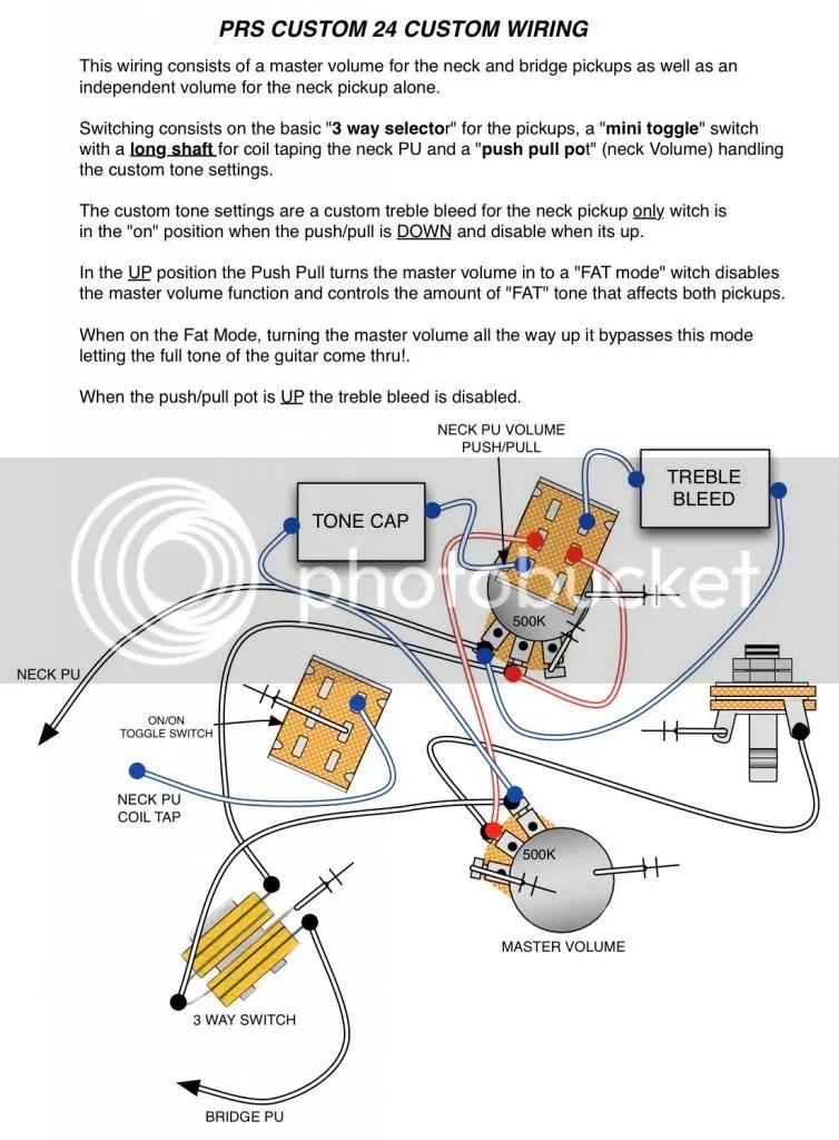 Prs Custom 24 Wiring Diagram With Push Pull Wiring Diagram
