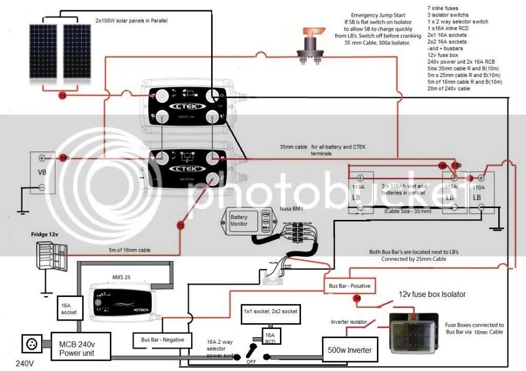 diesel rv wiring diagram