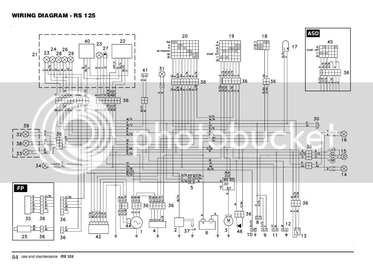 mv agusta 125 wiring diagram