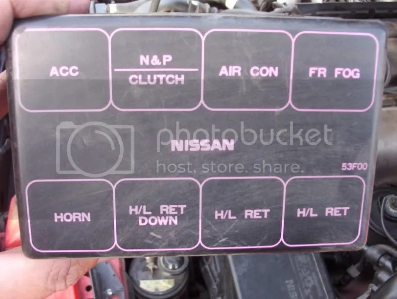 Fuse and relay locations for 1991 240sx - Nissan Forum Nissan Forums