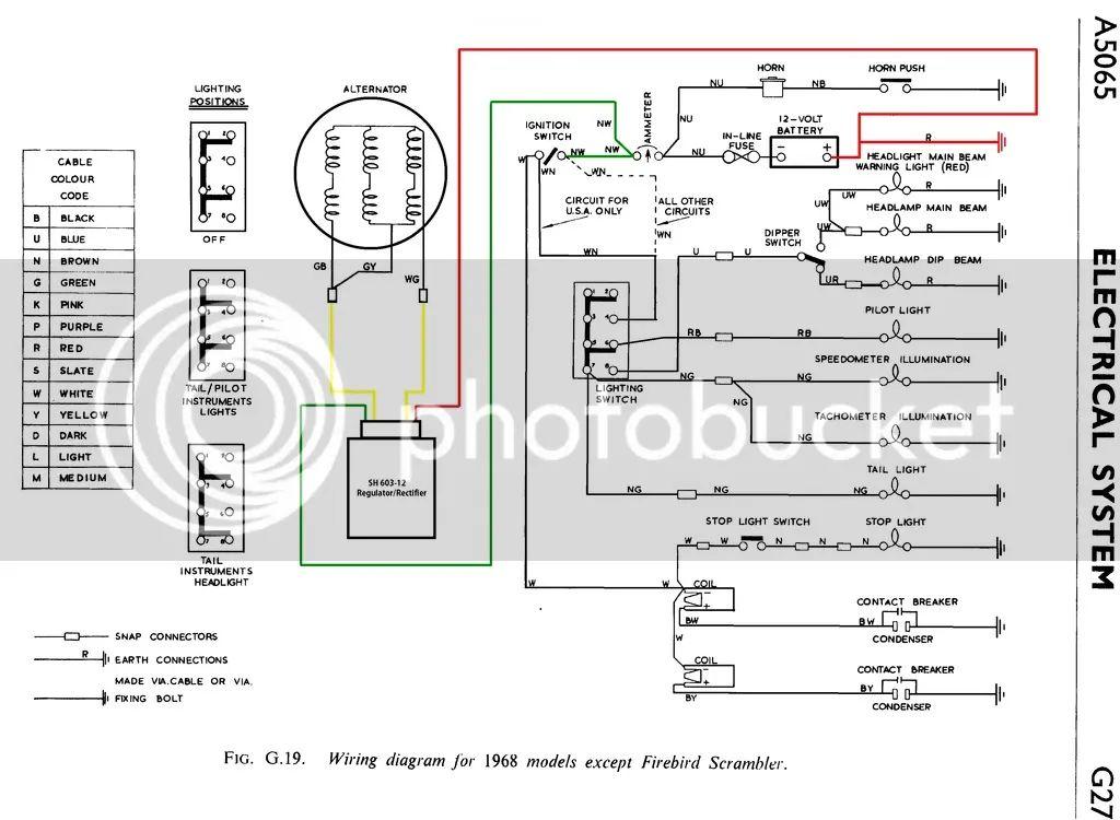 wiring diagram 69 bsa a65