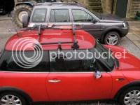 MINI ONE D with Thule roof rack - MINI Cooper Forum