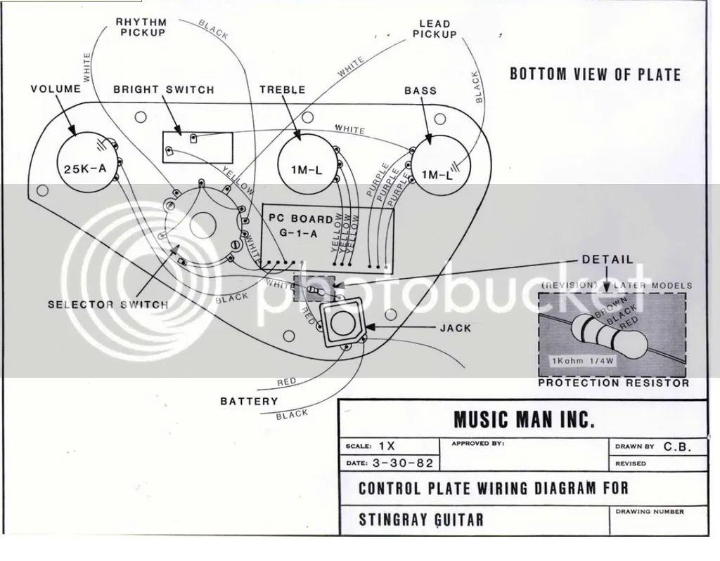 wiring diagram stingray bass