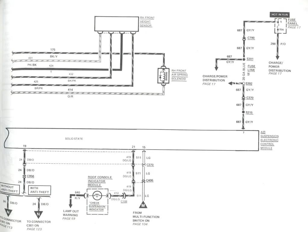 wiring diagram for a 1989 lincoln mark 7