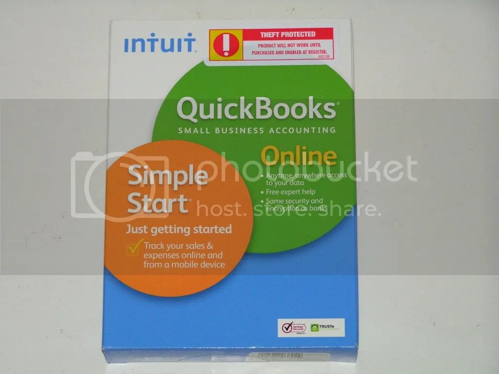 Intuit QuickBooks Small Business Accounting Online Account Expired On