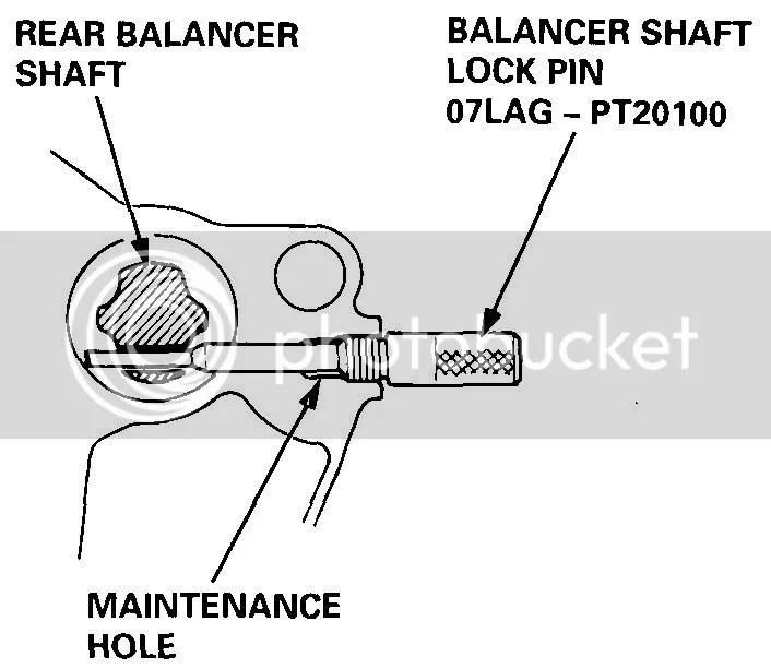 timing of balance shafts 96 Accord 22L - Honda-Tech - Honda Forum