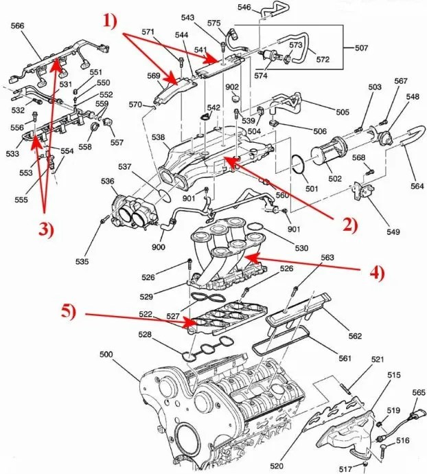 Cadillac Northstar Engine Diagram - Wwwcaseistore \u2022
