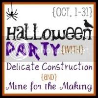 HalloweenPartyButton zps9ef59092 Halloween Themed Dollar Store Crafts {roundup}