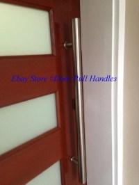 Entry Front Door Long Commercial Door Pull Handle ...