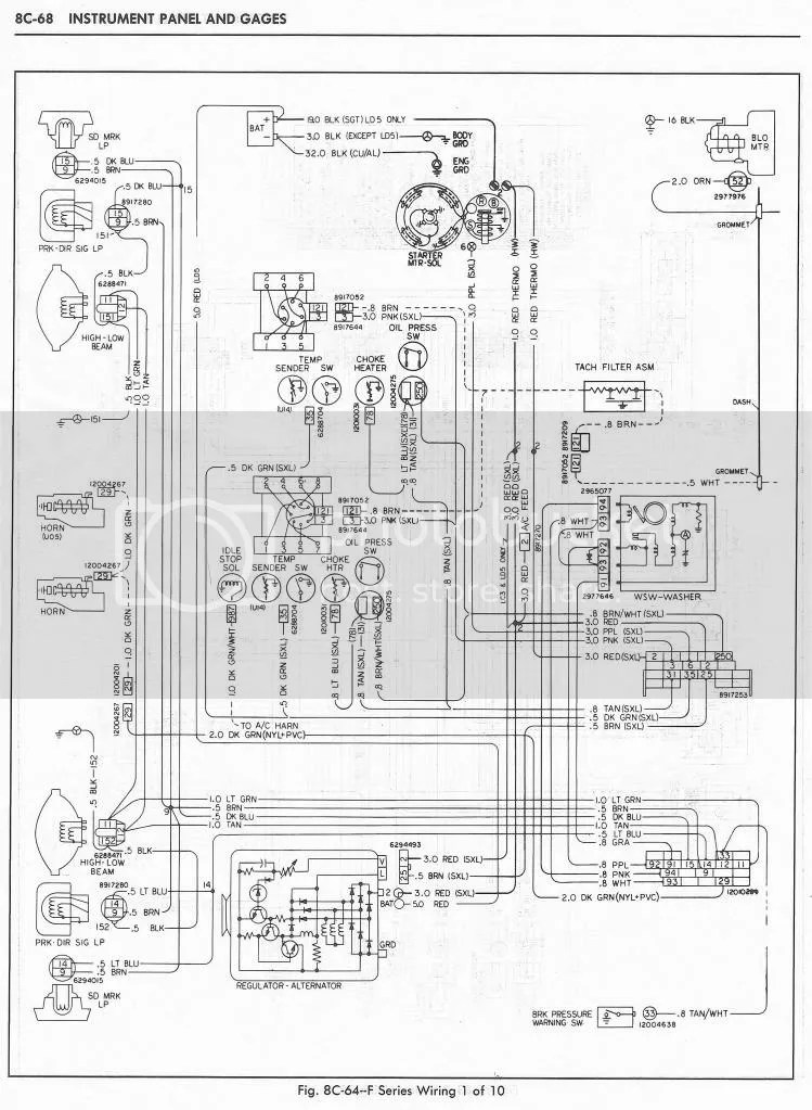 1970 c10 wiring harness