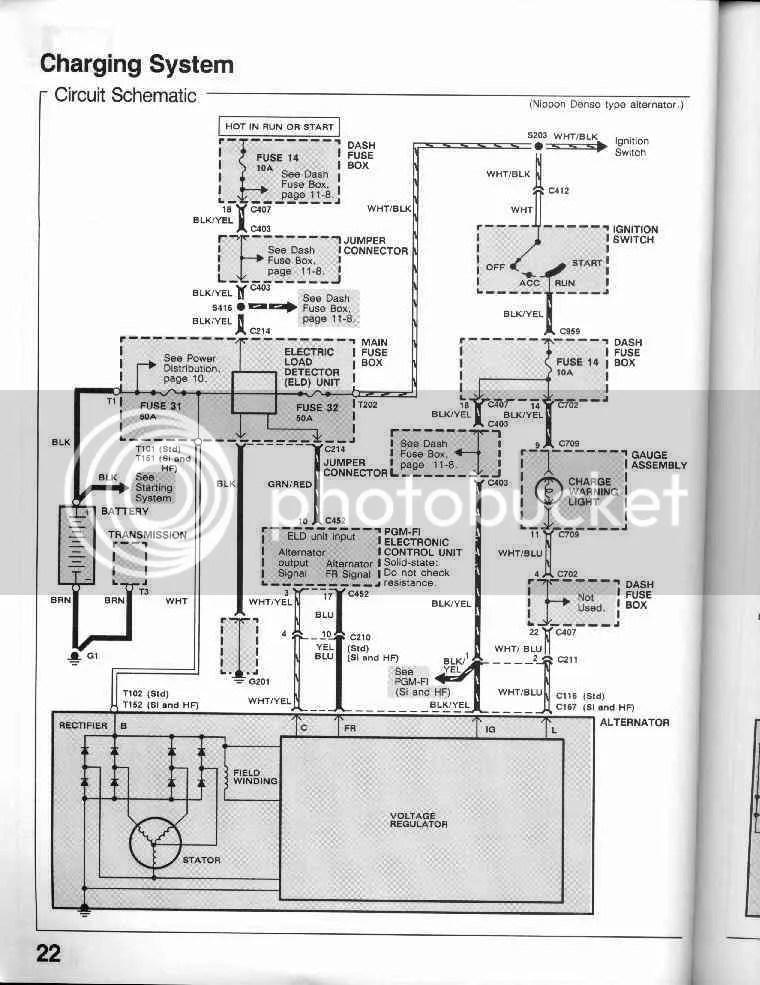 CRX Community Forum \u2022 View topic - Alternator wiring OBD0 to OBD1 CRX HF