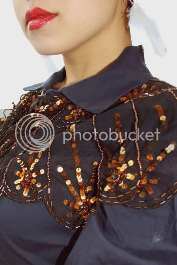 Feather fashion stylish accessory