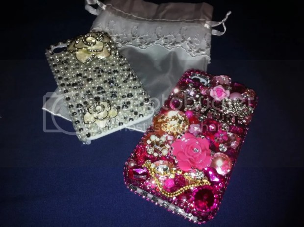 iPhone4 Bling Lux Addiction koreandollt