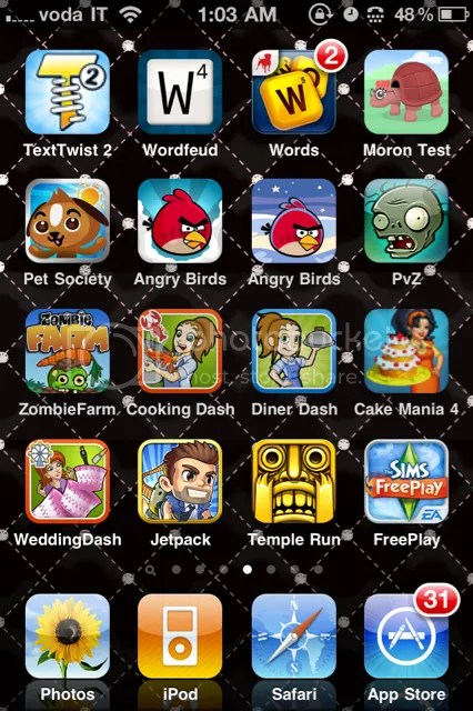 iPhone4 Game Apps