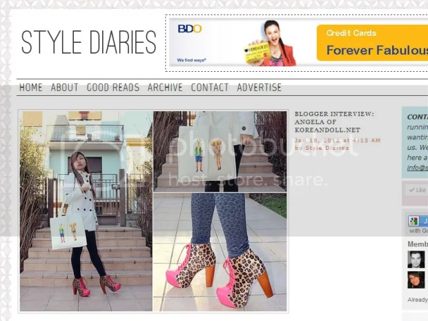 Style Diaries Featured Blogger