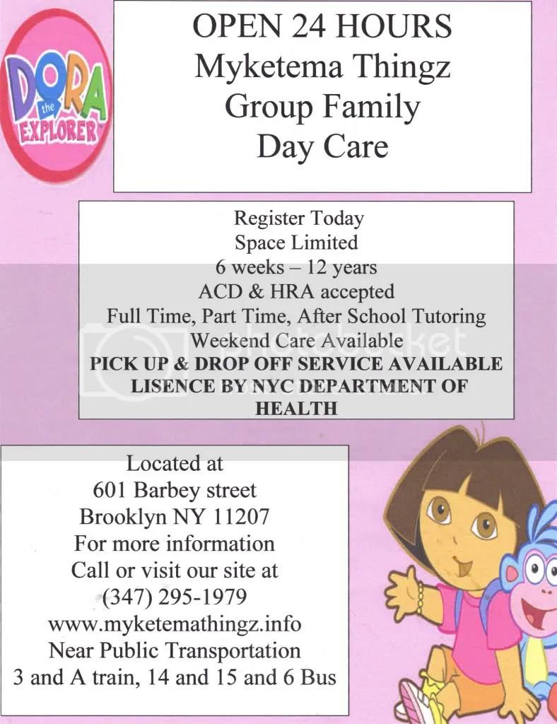 Free Child Care Flyer Templates – Daycare Flyer