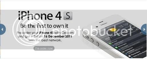 iphone 4s celcom