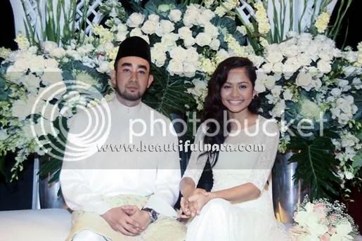 gambar majlis pertunangan liyana jasmay