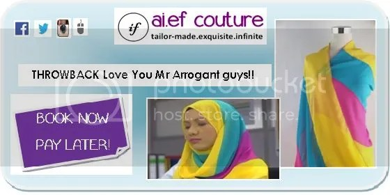 tudung love you mr arrogant