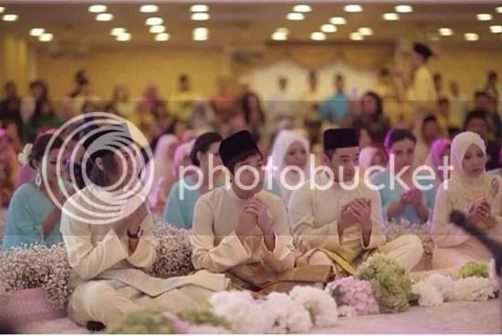 gambar pernikahan jovian nina