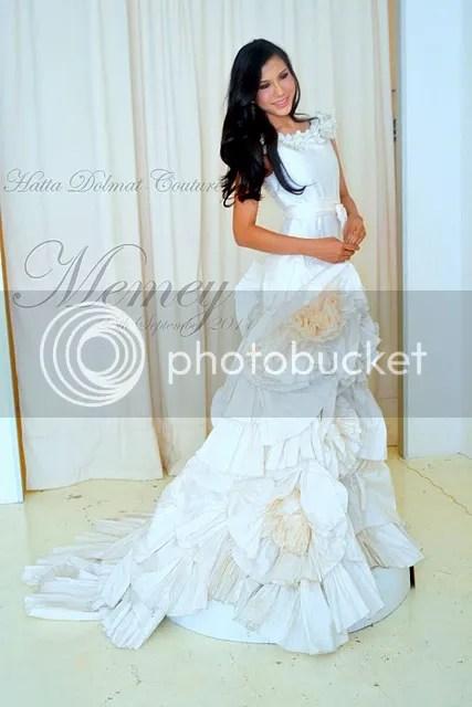 baju kahwin memey
