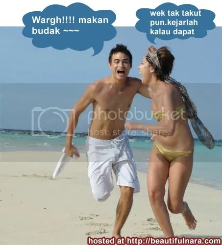 honeymoon bunga citra lestari