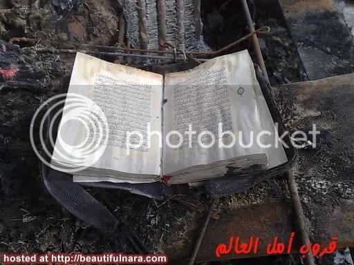 al quran terbakar