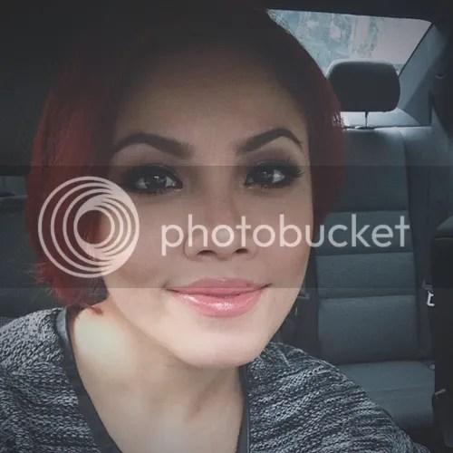 tiz zaqyah rambut merah