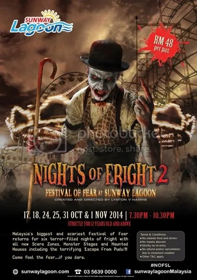 nights of fright 2 sunway lagoon